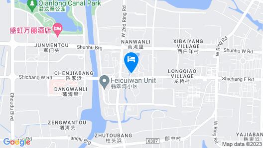 Greentree Inn Suzhou Shengze Business Hotel Map