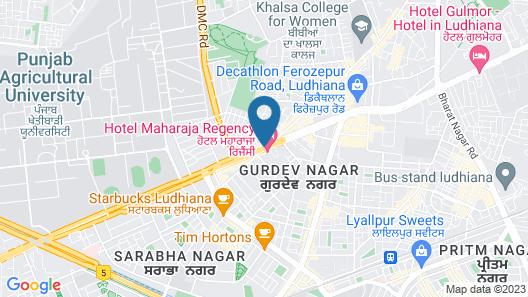 Maharaja Regency Map