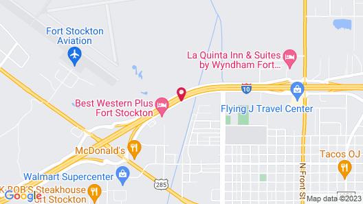 Fairfield Inn & Suites Fort Stockton Map