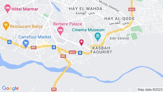 Hotel Karam Palace Map