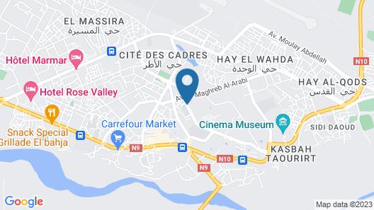 Le Berbere Palace Map