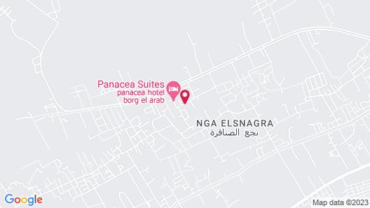 Panacea Hotel Borg El Arab Map