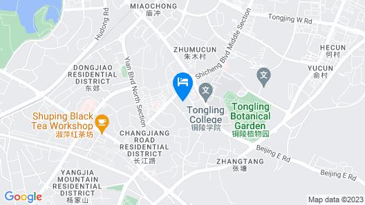 GreenTree Alliance Tongling Walking Street Yayuan Hotel Map