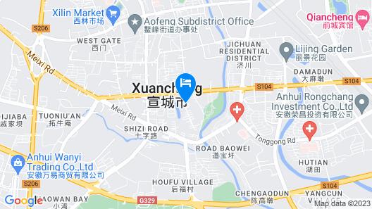 Wenjing Holiday Hotel Map