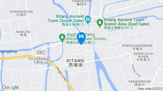 Xitang Hotel Map