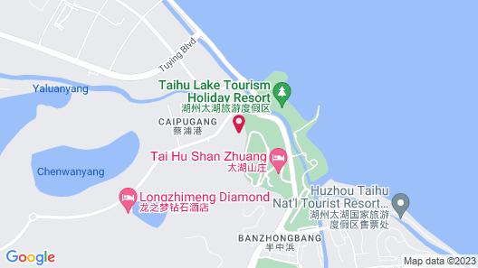 Sheraton Huzhou Hot Spring Resort Map