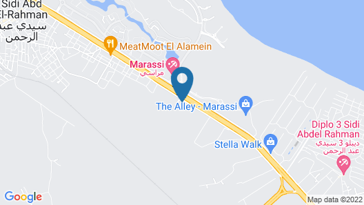SeaSide Serviced Apartments Map
