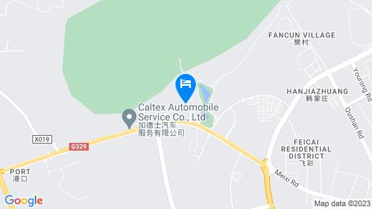 Jingtingshan Resort Map