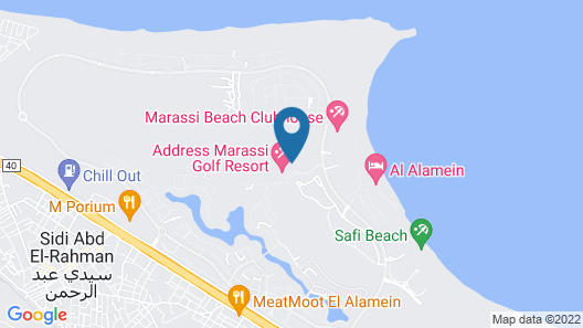 Address Marassi Golf Resort Map