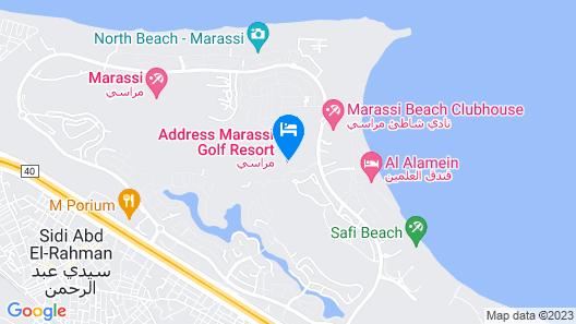Address Marassi Golf Resort Map