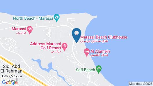 Marassi North Coast Chalet Catania D1 Map
