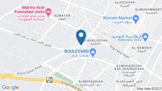 Qasr Alshamal Hotel Map