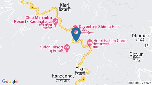 Deventure Shimla Hills Map