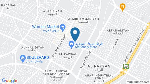 Raoum Inn Arar Map