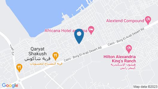 Africana Hotel & Spa Map