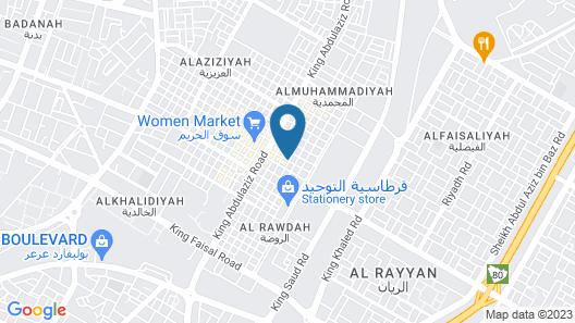 Dar Otel Map