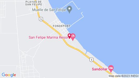 HOTEL SAN FELIPE MARINA RESORT Map
