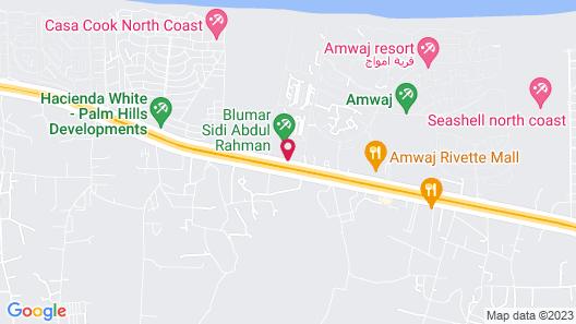 Aura Resort Sidi Abdel Rahman - El Alamein Map