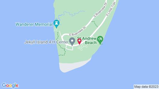Hampton Inn & Suites Jekyll Island Map
