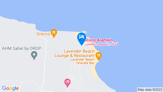 Rixos Alamein Map