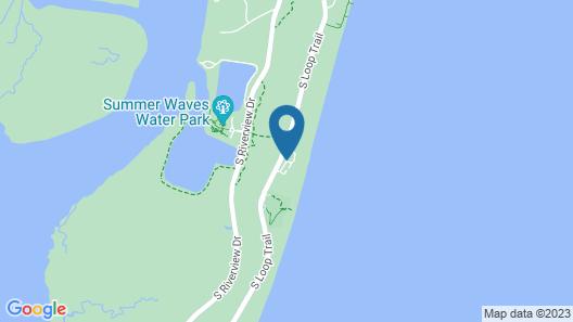 Endless Summer @ Ocean Oaks - 4 Br Home Map
