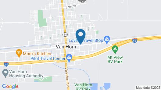 Desert Inn Map