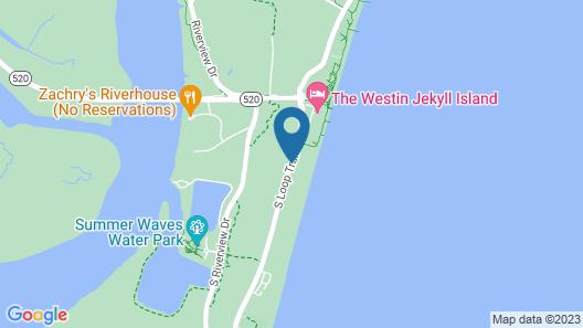Days Inn & Suites by Wyndham Jekyll Island Map