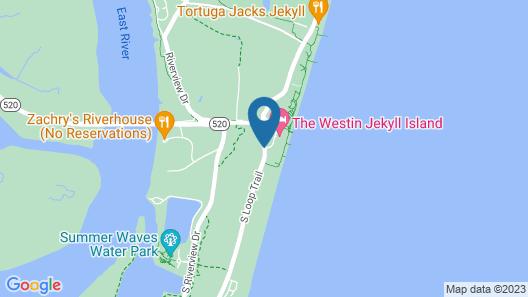 The Westin Jekyll Island Map