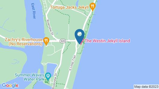 Jekyll Ocean Club Map