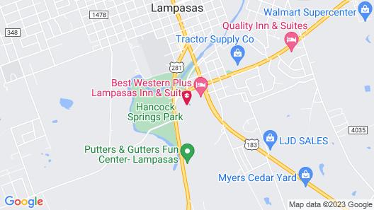 Country inn Lampasas Map
