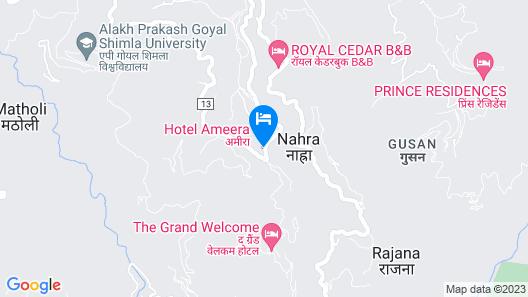 Hotel Ameera Shimla Map