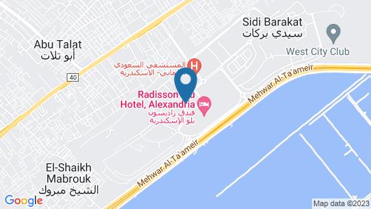 Radisson Blu Hotel, Alexandria Map