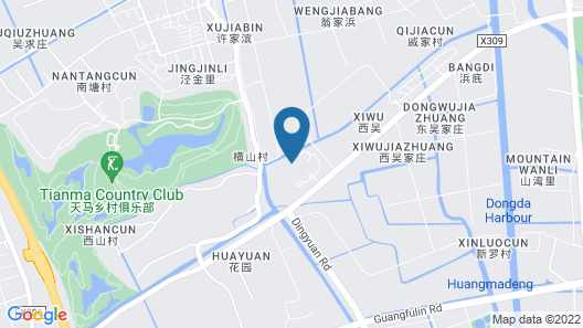 Intercontinental Shanghai Wonderland, an IHG Hotel Map