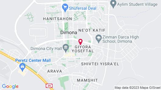 Hadass Desert Inn Map