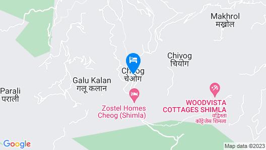 Wood Vista Cottages Map