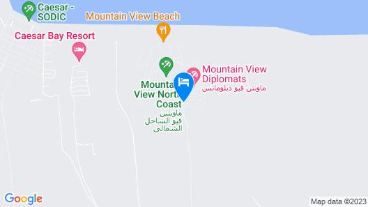 Diplomats Villa at Diplo4 MV Rass El Hekma Map