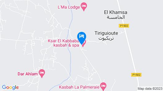 Ksar El Kabbaba Map