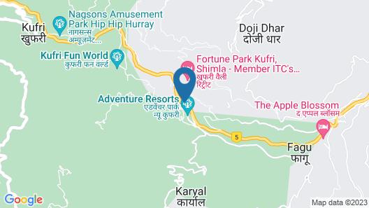 Sterling Kufri Map