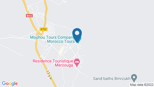Auberge Les Roches Map