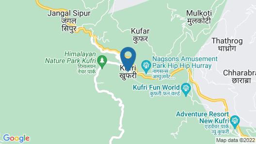 Kufri Holiday Resort Map