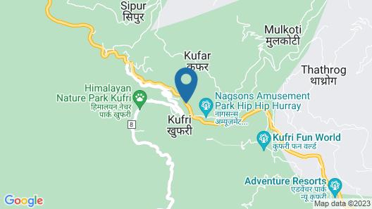 Royal Tulip Shimla - Kufri Map