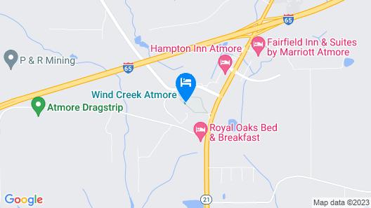 Wind Creek Casino & Hotel Atmore Map