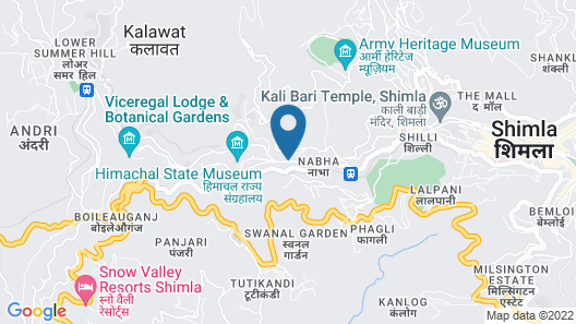 The Oberoi Cecil, Shimla Map