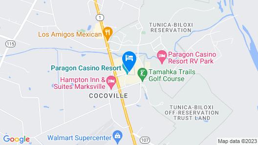 Paragon Casino Resort Map