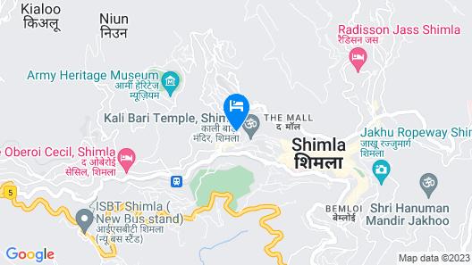 Hotel Surya Map