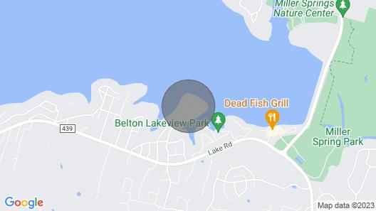 Boaters Paradise Close to Lake Belton Map