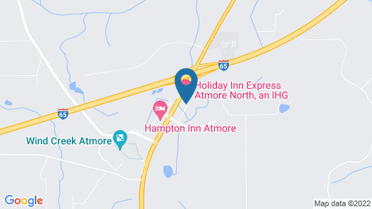 Holiday Inn Express Atmore, an IHG Hotel Map
