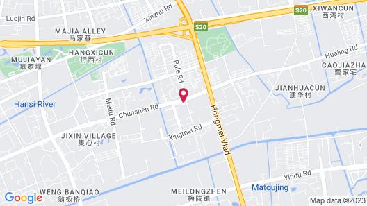 Ramada Shanghai Minhang Map