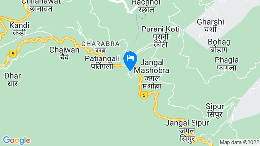 Wildflower Hall, An Oberoi Resort, Shimla Map