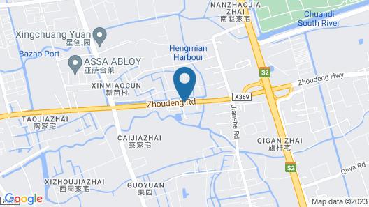Shanghai Xinchuan Boutique Apartment Map